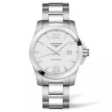 Load image into Gallery viewer, Longines Conquest - Automatic - Silver Dial Men's Watch 41mm