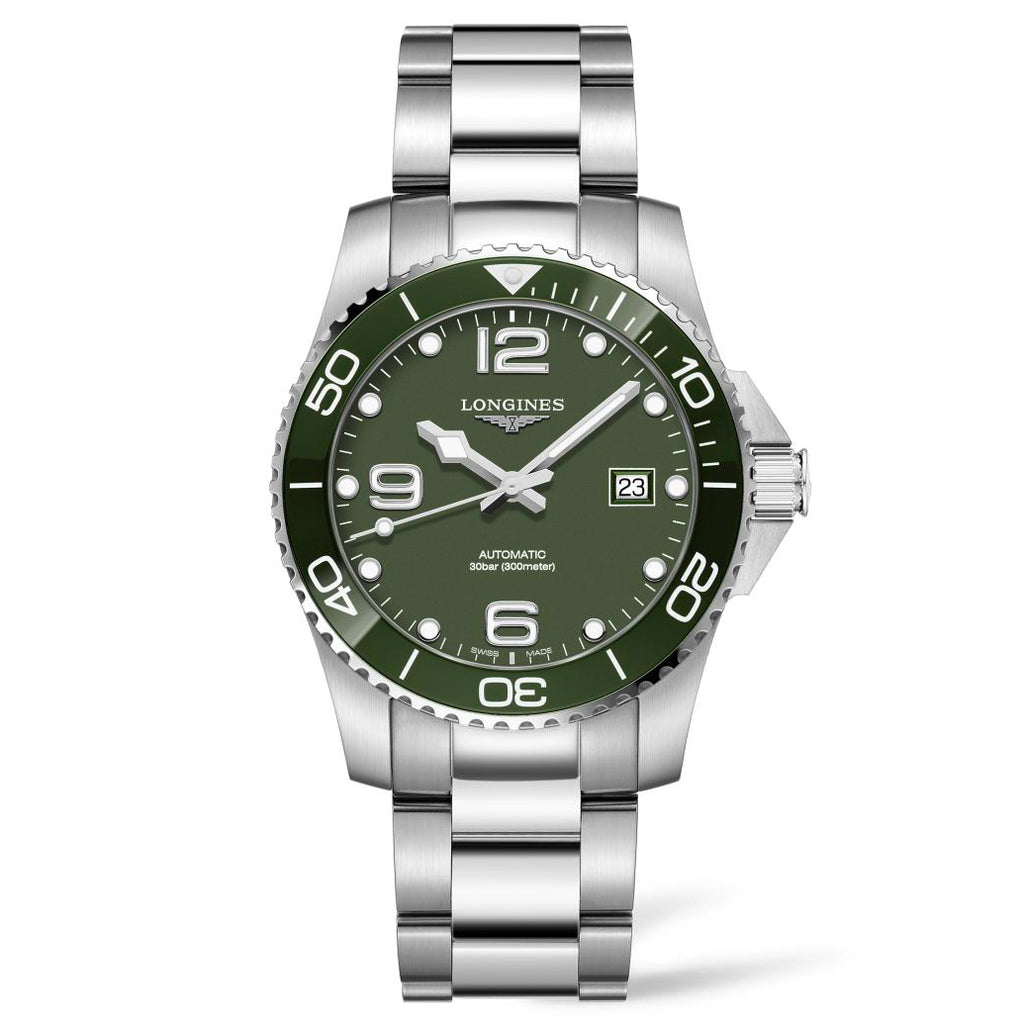 Longines Conquest - Automatic - Green Dial Men's Watch 41mm