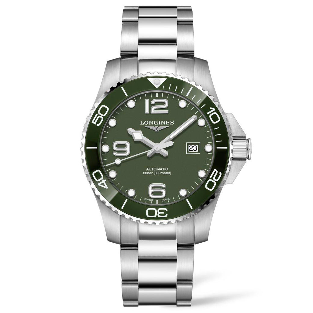Longines Conquest - Automatic - Green Dial Men's Watch 43mm