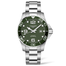 Load image into Gallery viewer, Longines Conquest - Automatic - Green Dial Men's Watch 43mm