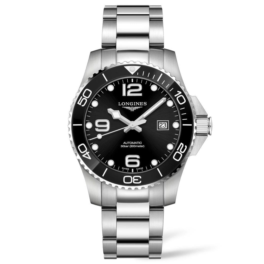 Longines Conquest - Automatic - Black Dial Men's Watch 43mm