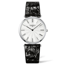 Load image into Gallery viewer, La Grande Classique de Longines - Lady's Silver Tone Leather watch 36mm