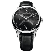 Load image into Gallery viewer, Maurice Lacroix - Masterpiece Double Retrograde -  Black Dial - Leather - MP6518-SS001-330