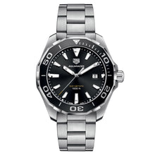 Load image into Gallery viewer, Tag Heuer - Aquaracer - Aluminum Bezel - Steel Bracelet - 43mm watch - WAY101A.BA0746
