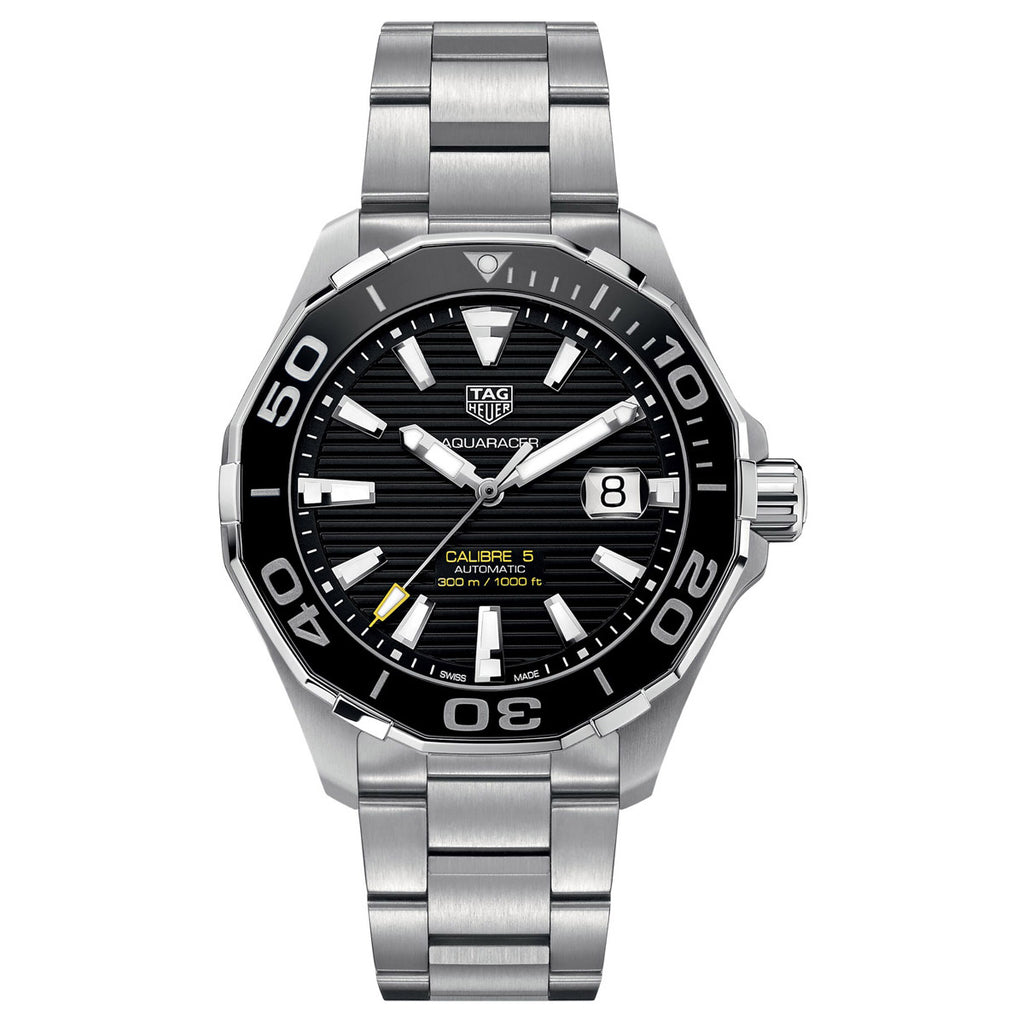 Tag Heuer - Aquaracer - Ceramic Bezel - Automatic watch 43mm - WAY201A.BA0927