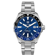 Load image into Gallery viewer, Tag Heuer - Aquaracer - Aluminum Bezel - Automatic GMT watch 43mm - WAY201T.BA0927