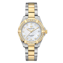 Load image into Gallery viewer, Tag Heuer - Aquaracer - Gold Plated Bezel - Diamond Dial & Bezel watch 32mm - WBD1323.BB0320