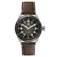 Load image into Gallery viewer, Tag Heuer - Autavia - Black Dial-Brown Leather strap 42mm watch - WBE5114.FC8266