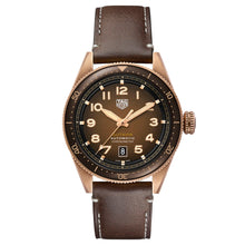 Load image into Gallery viewer, Tag Heuer - Autavia - Brown Dial-Bronze Case - Brown Leather-42mm watch- WBE5191.FC8276