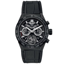 Load image into Gallery viewer, Tag Heuer - Carrera Tourbillon Automatic Chronograph - Ceramic Case - Aligator Strap - CAR5A90.FC6415