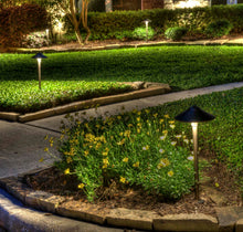 "Load image into Gallery viewer, Pathway Lights 120 - LED Outdoor Lighting Landscape Lights (1, Wide Top 8-1/2"")"