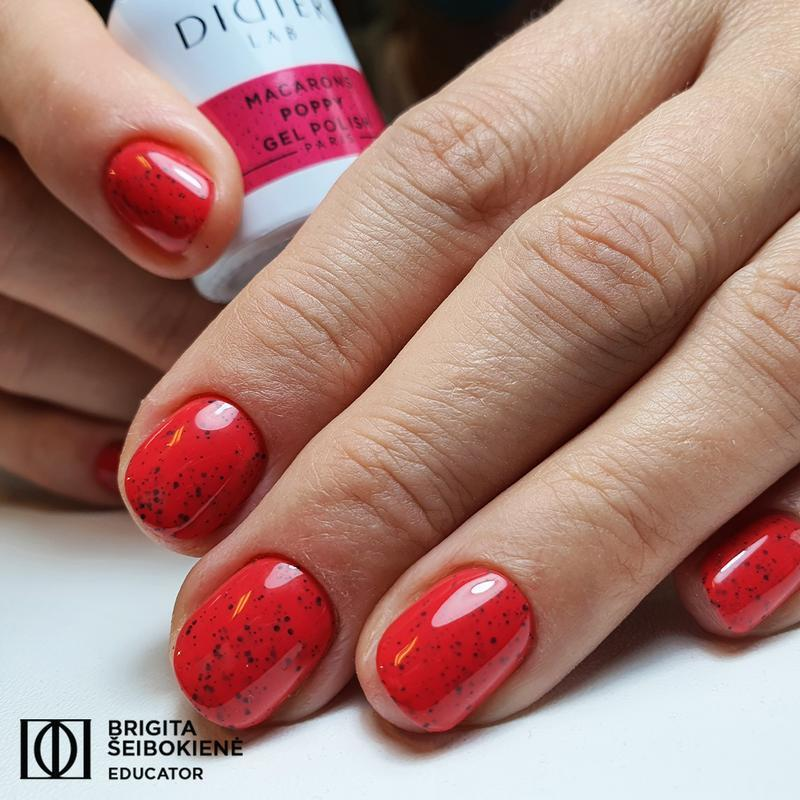 "Macarons Gel Polish ""Didier Lab"" Poppy"