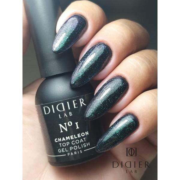 "Didierlab Gel Nail Polish Gel polish ""Didier Lab"", Chameleon Top coat, No1"