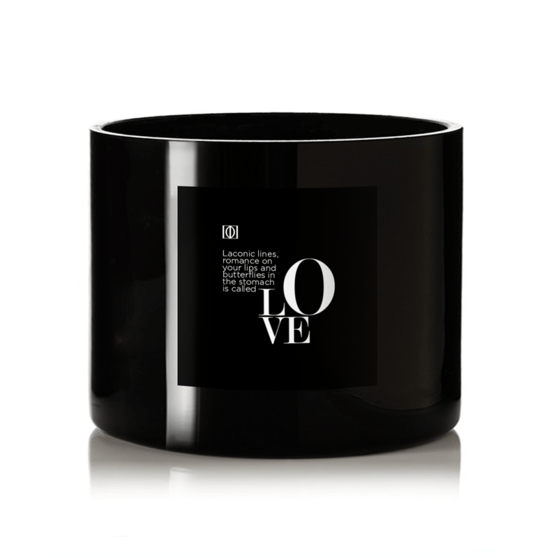 "Didierlab Home Decoration Big candle ""Didier Lab"", LOVE, 450gr"