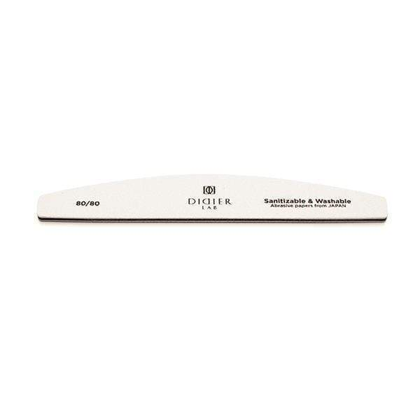Didierlab Nail Files, Nail Buffers Didier Lab Nail file, halfmoon, speedy white, 80/80