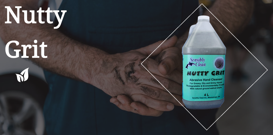Nutty Grit Newmarket Ontario hand cleaner for mechanics