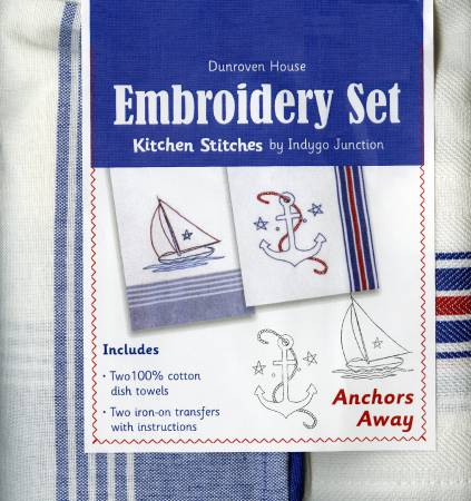 Anchors Away Embroidery Set