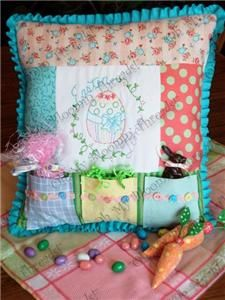 Easter Time Pocket Pillow Pattern by Oh My Bloomin Threads