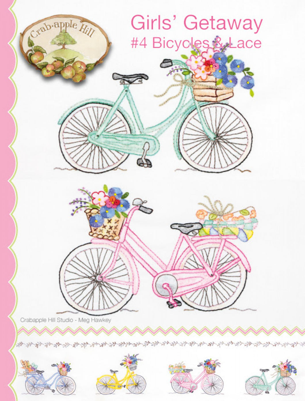 Girls' Getaway 4 Bicycles & Lace
