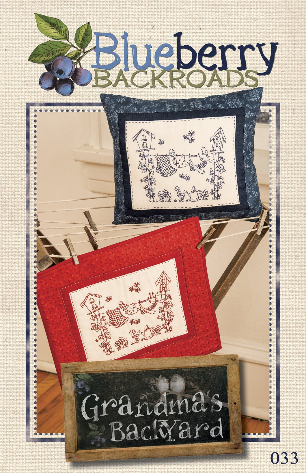 Grandma's Backyard Pattern by Blueberry Backroads