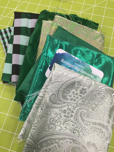 Crazy Quilt Green Collection