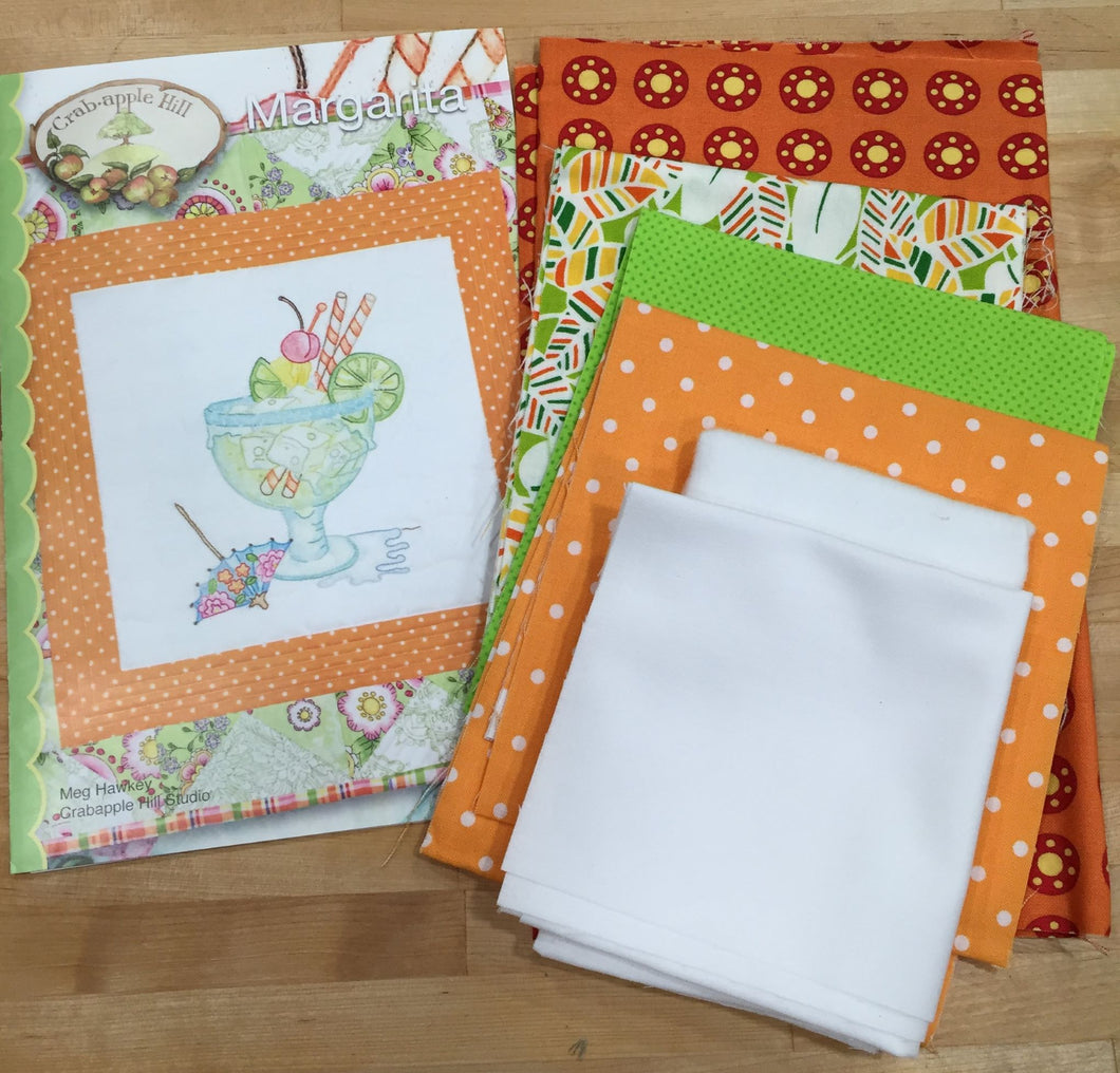 Margarita Kit Hand Embroidery & Piecing