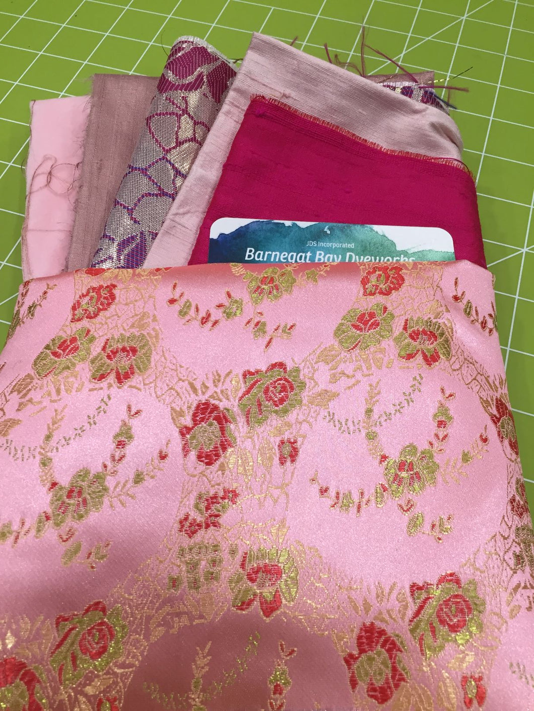 Crazy Quilt Pink 1 Collection
