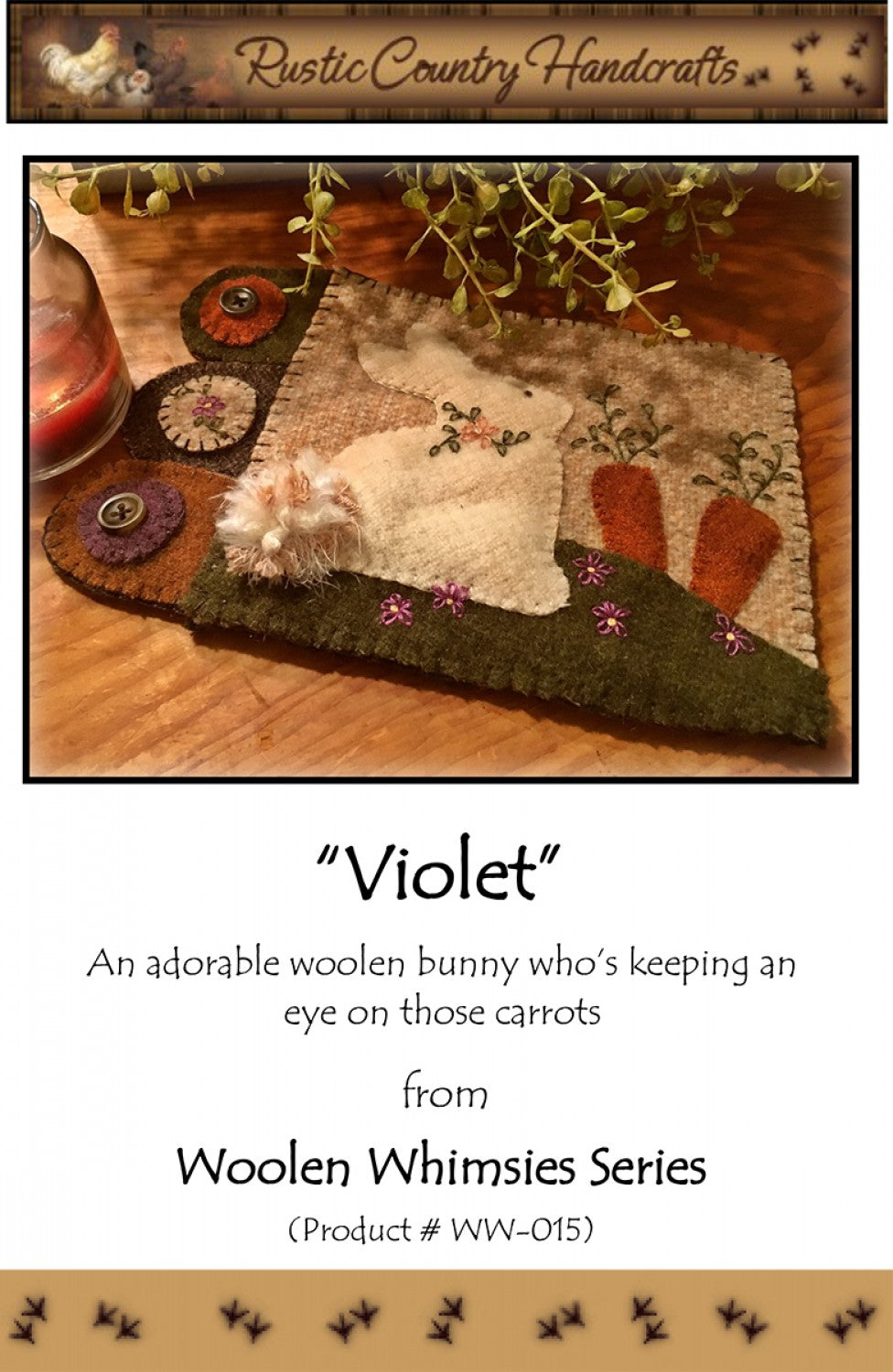Violet Pattern by Rustic Country Handcrafts