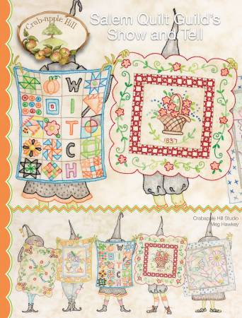 Salem Quilt Guild's Show And Tell Embroidery Pattern by Crabapple Hill