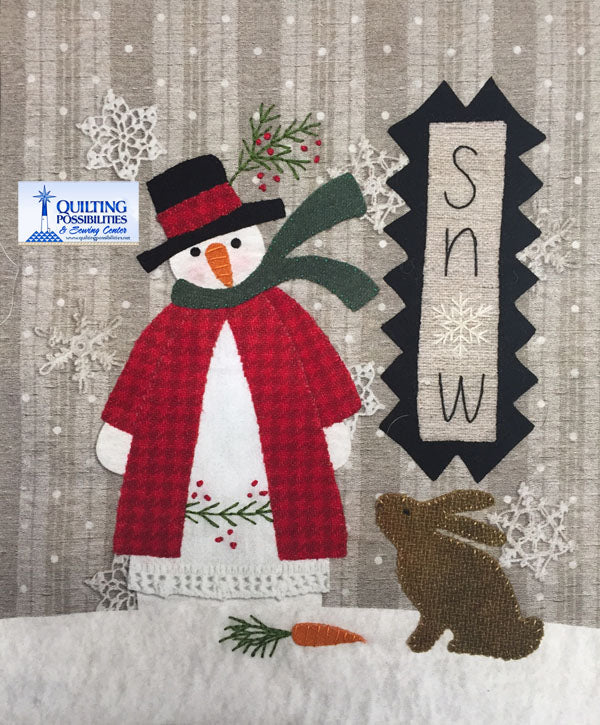 Snow Wool Kit All Through the Night Designs pattern