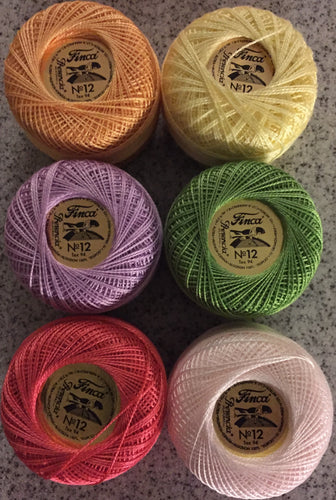 Finca Perle Cotton #12 Spring Collection