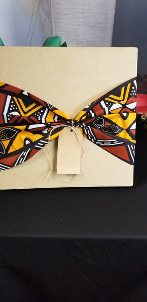 Keepsake Gift boxes with African Print