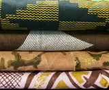 Fabric Cotton African Wax 3yrds