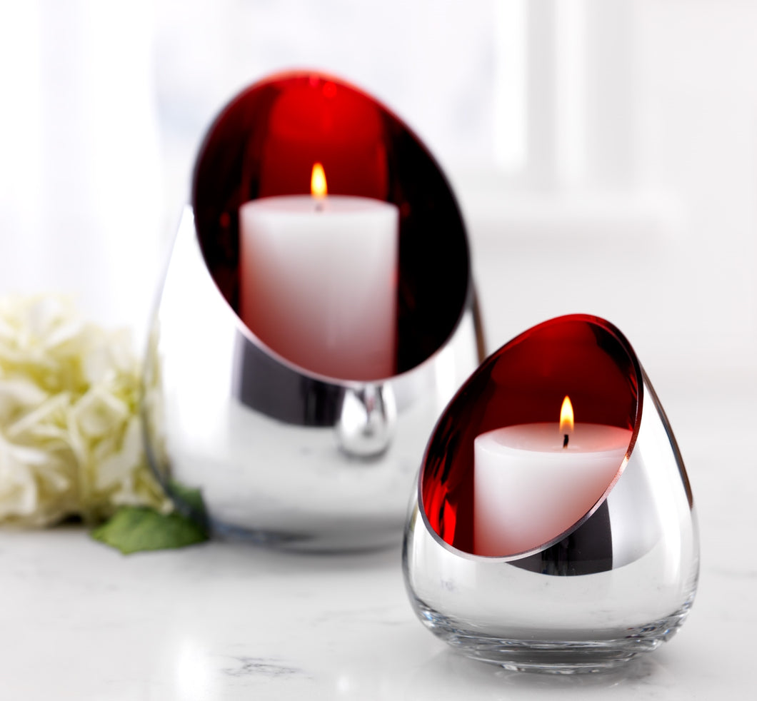 Mirrored Candle Holders (Set of 2) 9