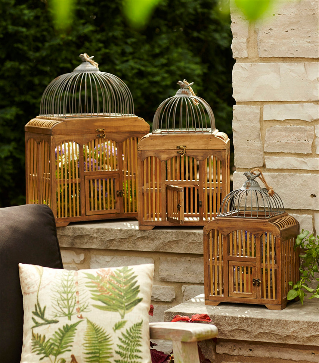 Decorative Birdcages (Set of 3) 17.75