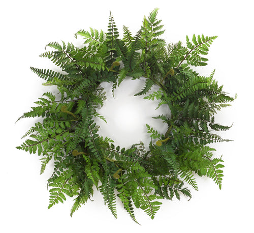Fern Wreath 24