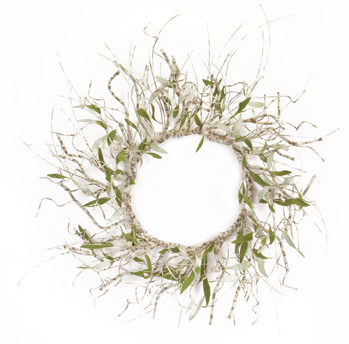 Twig/Leaf Wreath 27