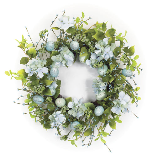 Egg/Floral Wreath 22