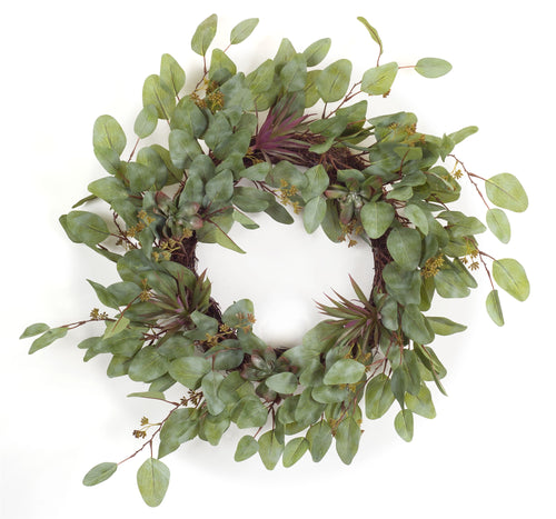 Succulent Wreath 23
