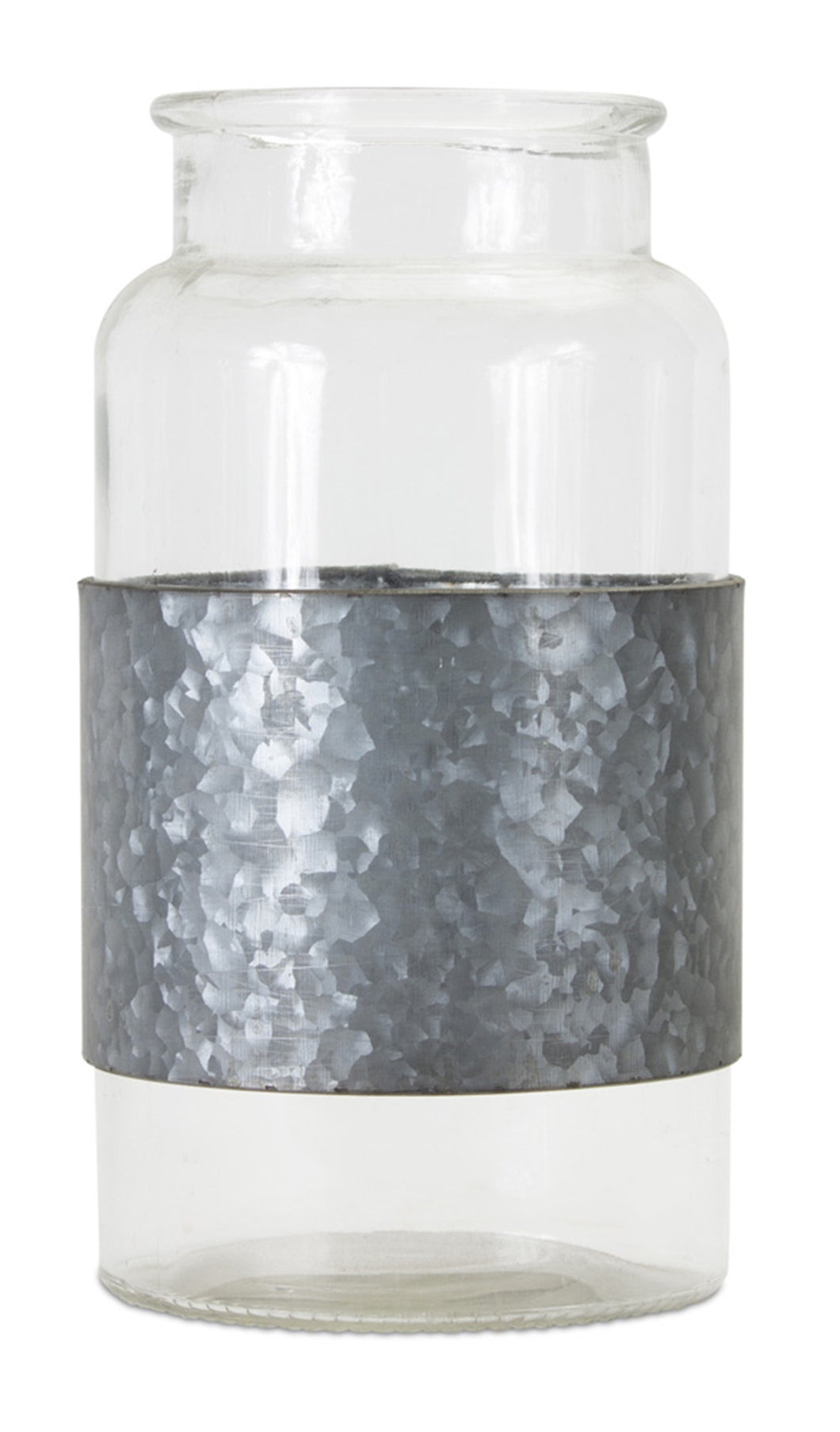 Jar With Metal Wrap (Set of 2) 8