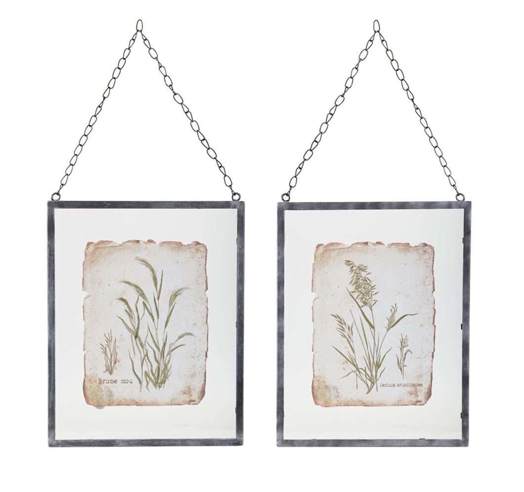 Grass Frame (Set of 2) 12.5