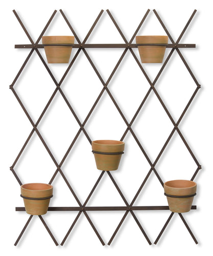 Trellis With Pots 35