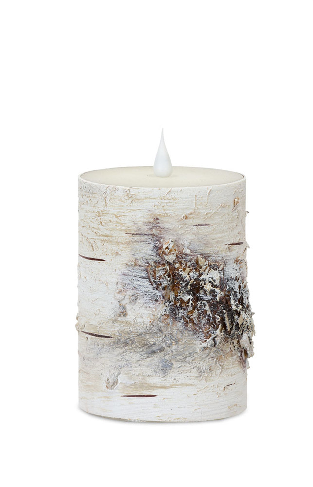 LED Birch Candle 3.5