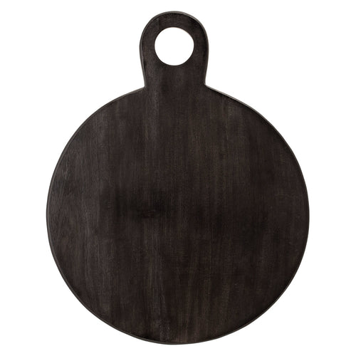 Black Acacia Wood Tray/Cutting Board Default Title