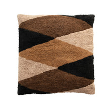 Load image into Gallery viewer, Cotton Tufted Print Floor Cushion, Multi Color Default Title