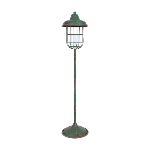 Metal Standing Lantern for Pillar Candle
