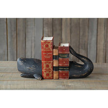 Load image into Gallery viewer, Whale Shaped Resin Bookends Set of 2 Pieces