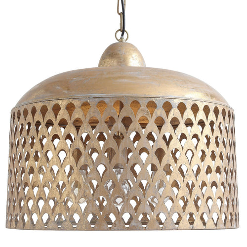 Gold Metal Pendant Light
