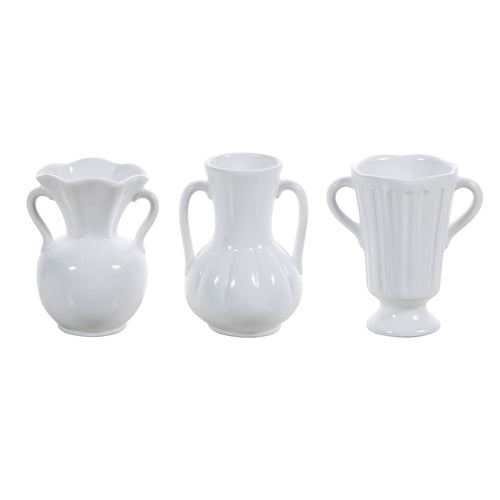 Ceramic Vase (Set of 3 Styles) Default Title