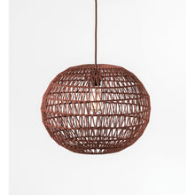 Load image into Gallery viewer, Sienna Woven Hemp Rope Pendant Light